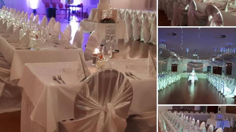 Svatební hostina - kongresový sál - Hotel Tři Věžičky